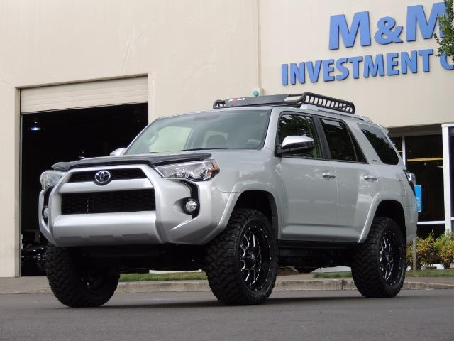 2016 Toyota 4Runner SR5 SPORT SUV 4WD V6 / 3RD SEATS REAR CAM / LIFTED - Photo 41 - Portland, OR 97217