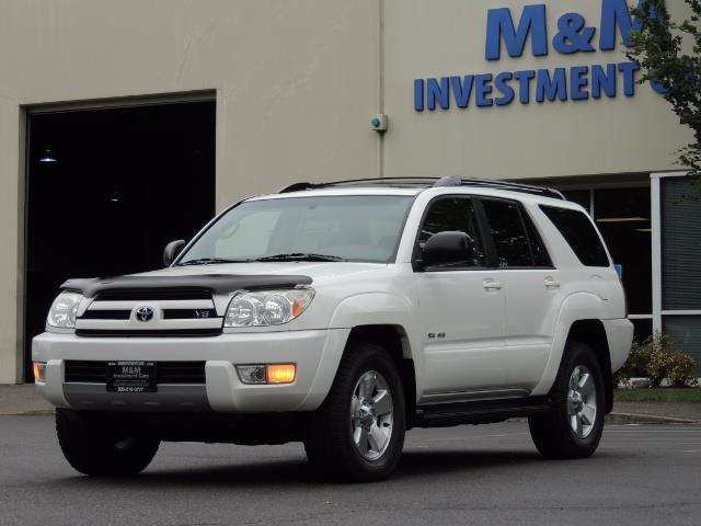 2003 Toyota 4Runner SR5 4WD 109K Miles / Moon Roof / TimingBelt Done - Photo 1 - Portland, OR 97217