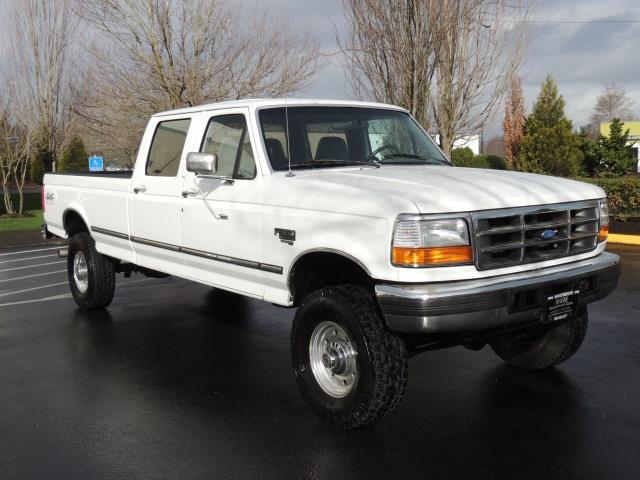 1997 ford f 350 xlt 4x4 crew cab long bed 7 3l turbo diesel. Black Bedroom Furniture Sets. Home Design Ideas
