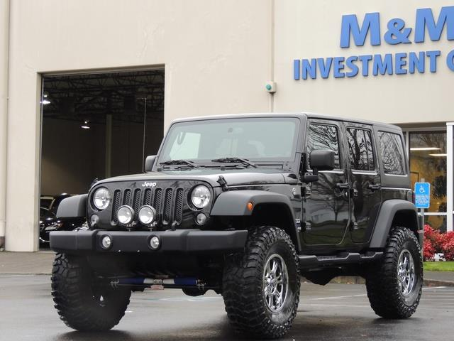 How Much Is It To Lease A Jeep Wrangler >> 2014 Jeep Wrangler Unlimited Sport / 4X4 / LIFTED 37 INC MUD TIRES