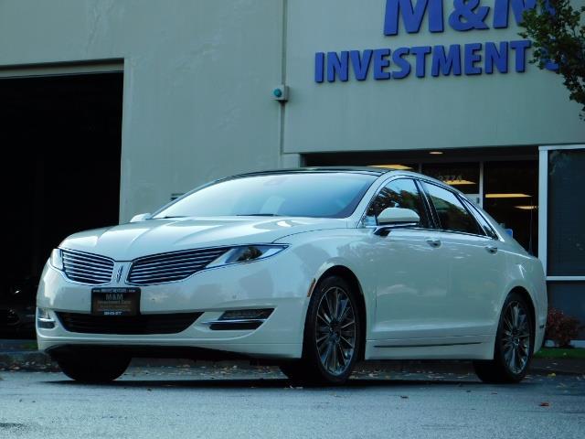2013 Lincoln MKZ Hybrid Hybrid Sedan / Nav / Parking assist / 1-OWNER - Photo 46 - Portland, OR 97217