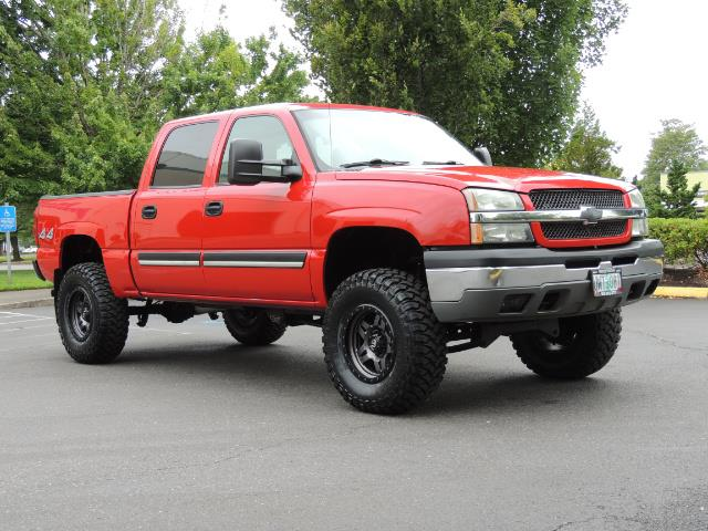 2005 Chevrolet Silverado 1500 LS 4dr Crew Cab / 4X4 / Z71 OFF RD / LIFTED LIFTED - Photo 2 - Portland, OR 97217