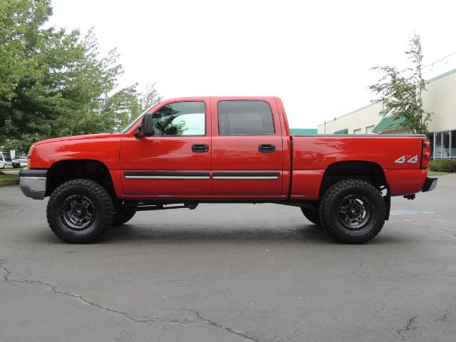 2005 Chevrolet Silverado 1500 LS 4dr Crew Cab / 4X4 / Z71 OFF RD / LIFTED LIFTED - Photo 3 - Portland, OR 97217