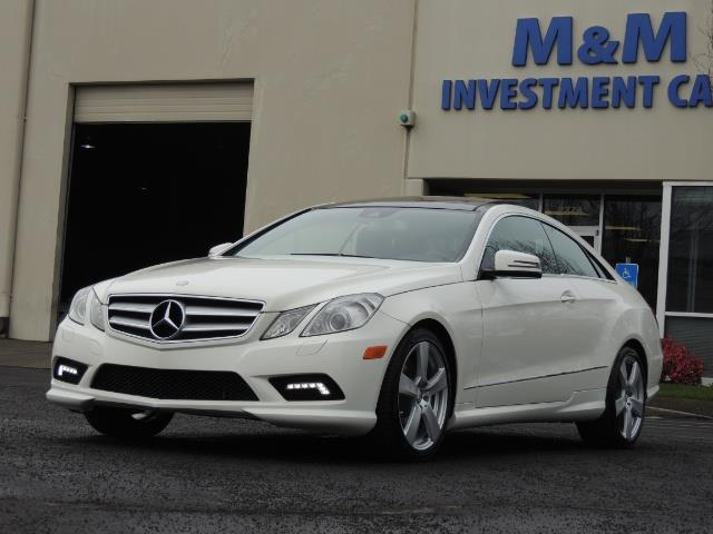 2010 Mercedes-Benz E550 COUPE / FULLY LOADED !! - Photo 41 - Portland, OR 97217