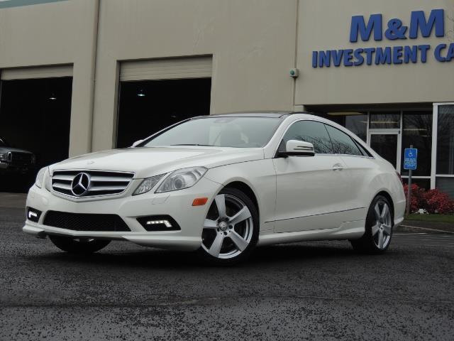 2010 Mercedes-Benz E550 COUPE / FULLY LOADED !! - Photo 1 - Portland, OR 97217
