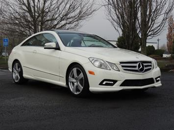 2010 Mercedes-Benz E550 COUPE / FULLY LOADED !! Coupe