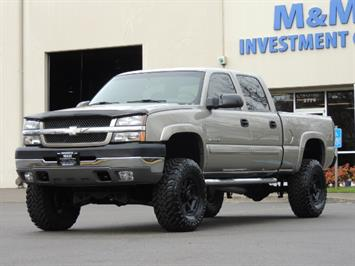 2003 Chevrolet Silverado 2500 LS 4dr Crew Cab / 4X4 / Low Miles / LIFTED LIFTED Truck