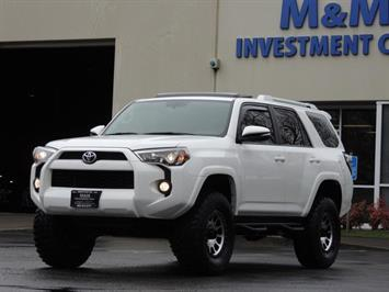 2016 Toyota 4Runner Trail Premium / 4X4 / Leather / Navigation /LIFTED SUV