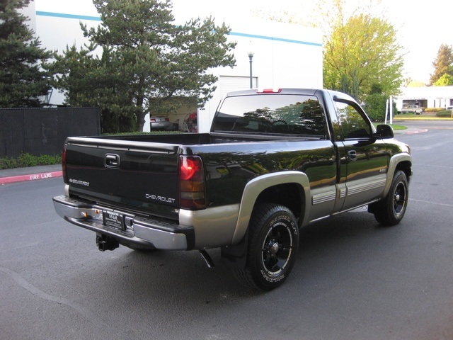 2002 chevrolet silverado 1500 ls 4wd 1 owner. Black Bedroom Furniture Sets. Home Design Ideas