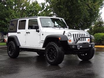 2013 Jeep Wrangler Unlimited Sport / 4X4 / Hard Top / LIFTED LIFTED SUV