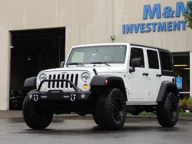 2013 Jeep Wrangler Unlimited Sport / 4X4 / Hard Top / LIFTED LIFTED - Photo 1 - Portland, OR 97217