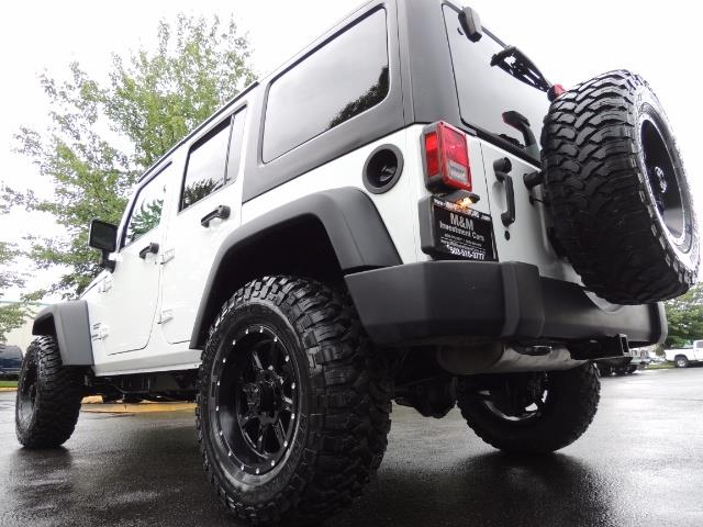 2013 Jeep Wrangler Unlimited Sport / 4X4 / Hard Top / LIFTED LIFTED - Photo 11 - Portland, OR 97217