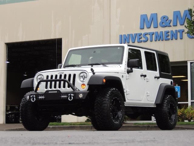 2013 Jeep Wrangler Unlimited Sport / 4X4 / Hard Top / LIFTED LIFTED - Photo 41 - Portland, OR 97217