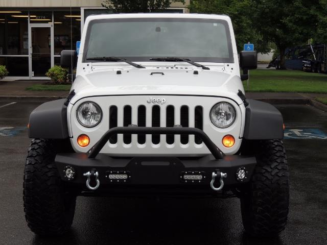 2013 Jeep Wrangler Unlimited Sport / 4X4 / Hard Top / LIFTED LIFTED - Photo 5 - Portland, OR 97217