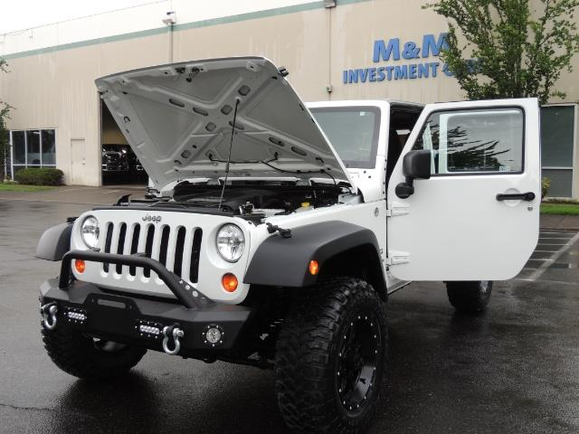 2013 Jeep Wrangler Unlimited Sport / 4X4 / Hard Top / LIFTED LIFTED - Photo 25 - Portland, OR 97217