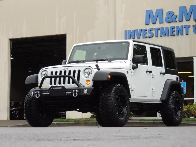 2013 Jeep Wrangler Unlimited Sport / 4X4 / Hard Top / LIFTED LIFTED - Photo 34 - Portland, OR 97217