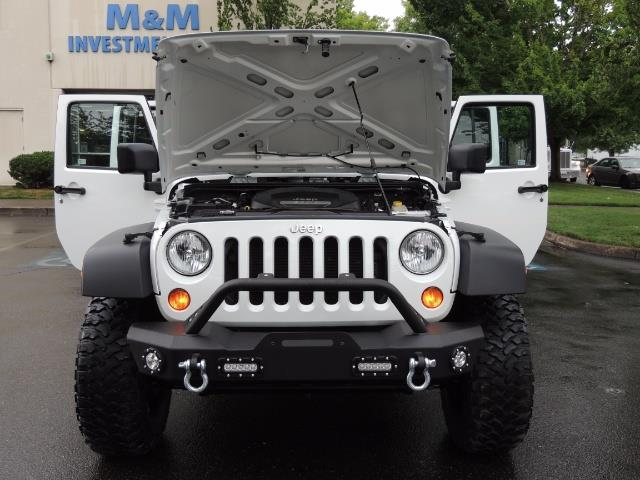 2013 Jeep Wrangler Unlimited Sport / 4X4 / Hard Top / LIFTED LIFTED - Photo 32 - Portland, OR 97217