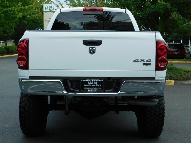 2007 Dodge Ram 2500 LARAMIE / 4X4 / HO 5.9 L CUMMINS DIESEL / LIFTED ! - Photo 6 - Portland, OR 97217
