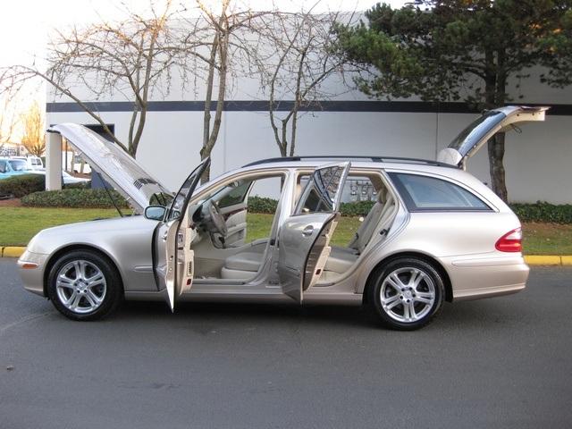 2004 mercedes benz e500 4matic wagon awd navigation 3rd for 2004 mercedes benz ml350 4matic