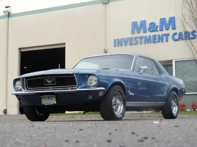 1968 Ford Mustang V8 / Restored / Excel Cond - Photo 39 - Portland, OR 97217