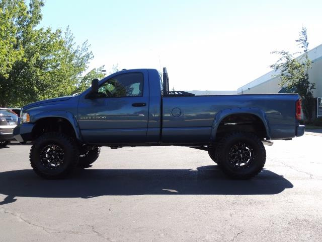 2004 Dodge Ram 2500 4X4 Long Bed / 5.9 L H.O DIESEL / 6-SPEED / LIFTED - Photo 3 - Portland, OR 97217