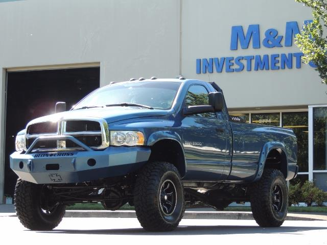 2004 Dodge Ram 2500 4X4 Long Bed / 5.9 L H.O DIESEL / 6-SPEED / LIFTED - Photo 39 - Portland, OR 97217