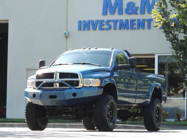 2004 Dodge Ram 2500 4X4 Long Bed / 5.9 L H.O DIESEL / 6-SPEED / LIFTED - Photo 36 - Portland, OR 97217