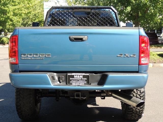 2004 Dodge Ram 2500 4X4 Long Bed / 5.9 L H.O DIESEL / 6-SPEED / LIFTED - Photo 7 - Portland, OR 97217