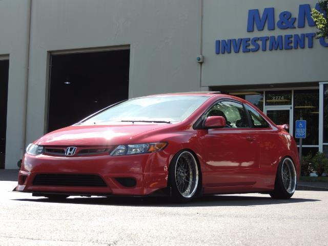 2008 Honda Civic Si Coupe 6 Speed Manual / WHEELS EXHAUST / LOWERED - Photo 1 - Portland, OR 97217