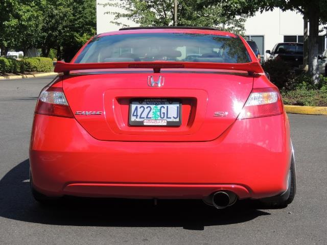 2008 Honda Civic Si Coupe 6 Speed Manual / WHEELS EXHAUST / LOWERED - Photo 6 - Portland, OR 97217