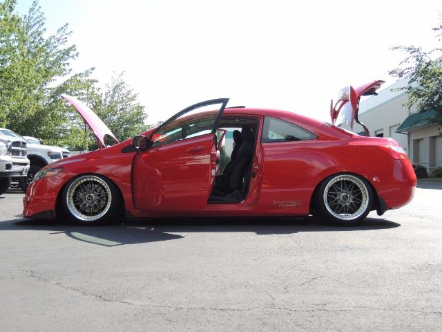 2008 Honda Civic Si Coupe 6 Speed Manual / WHEELS EXHAUST / LOWERED - Photo 10 - Portland, OR 97217
