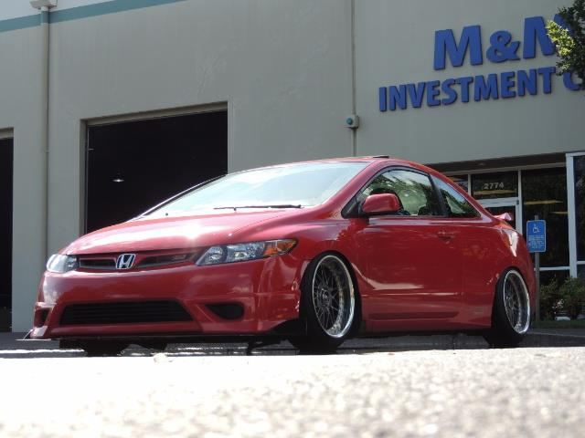2008 Honda Civic Si Coupe 6 Speed Manual / WHEELS EXHAUST / LOWERED - Photo 18 - Portland, OR 97217