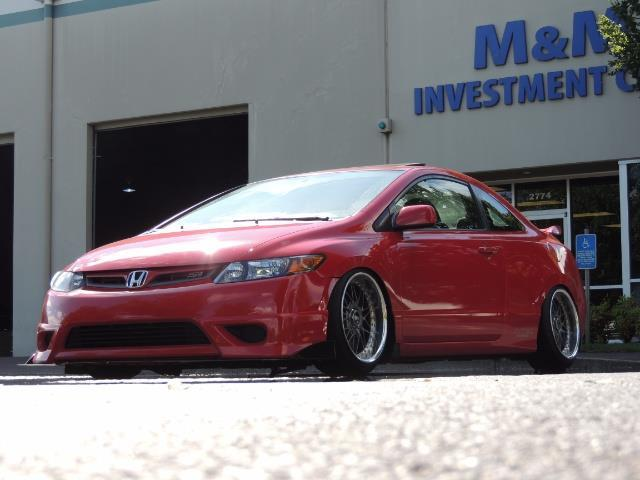 2008 Honda Civic Si Coupe 6 Speed Manual / WHEELS EXHAUST / LOWERED - Photo 20 - Portland, OR 97217