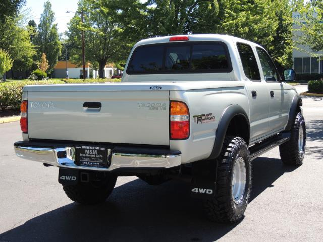 "2002 Toyota Tacoma V6 4dr Double Cab 4WD LIFTED 33 "" MUD DIF LOCKS - Photo 8 - Portland, OR 97217"