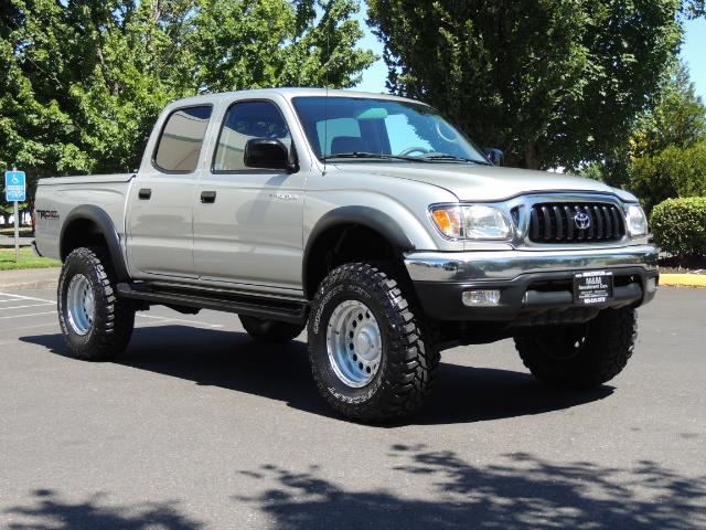 "2002 Toyota Tacoma V6 4dr Double Cab 4WD LIFTED 33 "" MUD DIF LOCKS - Photo 2 - Portland, OR 97217"