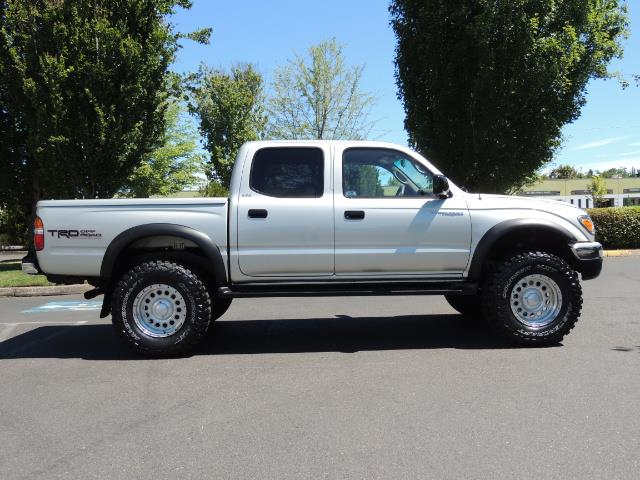 "2002 Toyota Tacoma V6 4dr Double Cab 4WD LIFTED 33 "" MUD DIF LOCKS - Photo 3 - Portland, OR 97217"