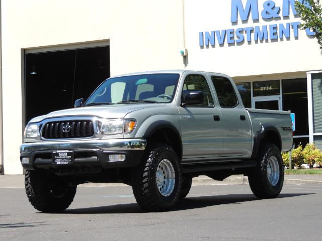 "2002 Toyota Tacoma V6 4dr Double Cab 4WD LIFTED 33 "" MUD DIF LOCKS - Photo 1 - Portland, OR 97217"