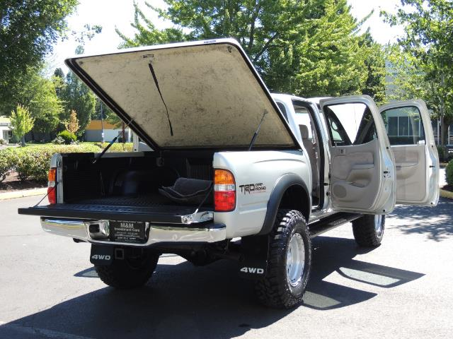 "2002 Toyota Tacoma V6 4dr Double Cab 4WD LIFTED 33 "" MUD DIF LOCKS - Photo 28 - Portland, OR 97217"