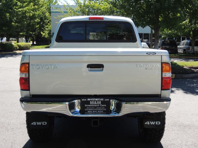 "2002 Toyota Tacoma V6 4dr Double Cab 4WD LIFTED 33 "" MUD DIF LOCKS - Photo 7 - Portland, OR 97217"