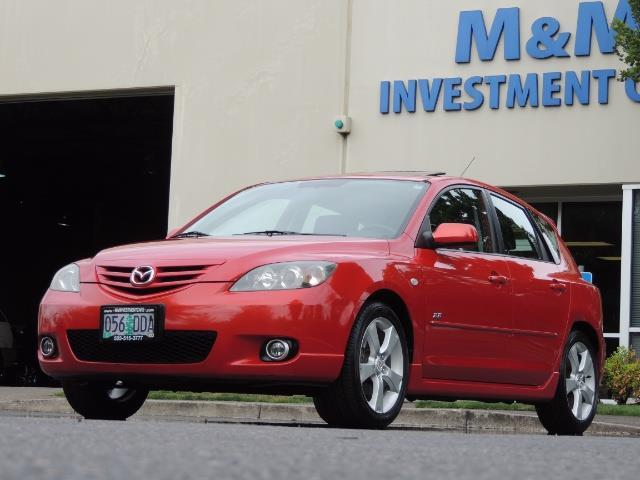 2005 Mazda Mazda3 SP23 Special Edition / Wagon/ 5-SPEED / Sunroof - Photo 44 - Portland, OR 97217