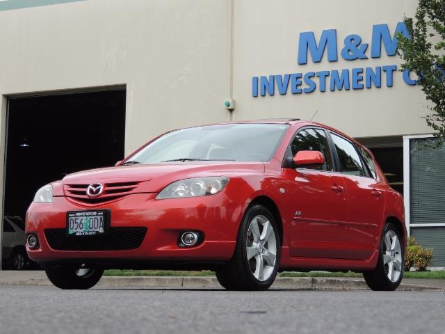 2005 Mazda Mazda3 SP23 Special Edition / Wagon/ 5-SPEED / Sunroof - Photo 42 - Portland, OR 97217
