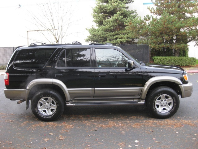 1999 toyota 4runner limited 4x4 diff lock leather timing. Black Bedroom Furniture Sets. Home Design Ideas
