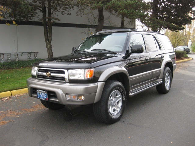 1999 toyota 4runner limited 4x4 diff lock leather timing belt done. Black Bedroom Furniture Sets. Home Design Ideas