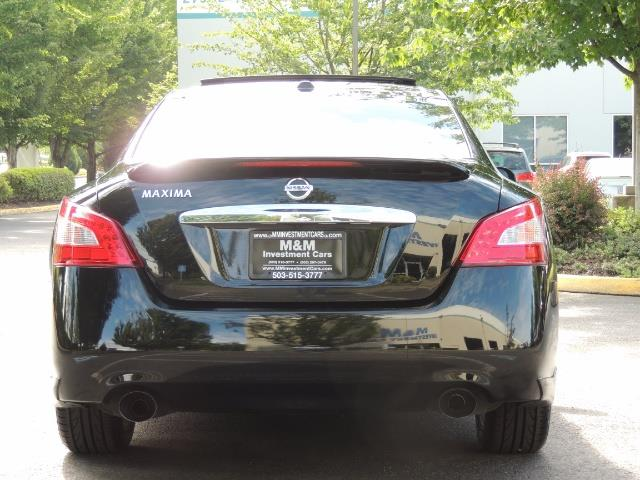 2010 Nissan Maxima 3.5 SV Heated+Cooled Leather / PANO ROOF / 1-OWNER - Photo 6 - Portland, OR 97217