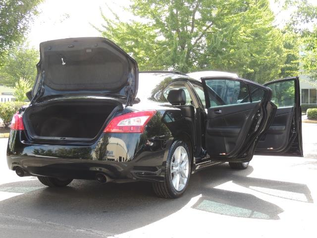 2010 Nissan Maxima 3.5 SV Heated+Cooled Leather / PANO ROOF / 1-OWNER - Photo 27 - Portland, OR 97217