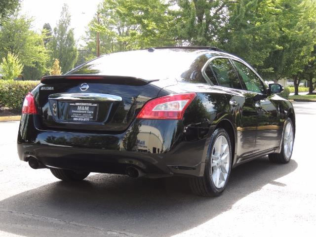 2010 Nissan Maxima 3.5 SV Heated+Cooled Leather / PANO ROOF / 1-OWNER - Photo 8 - Portland, OR 97217