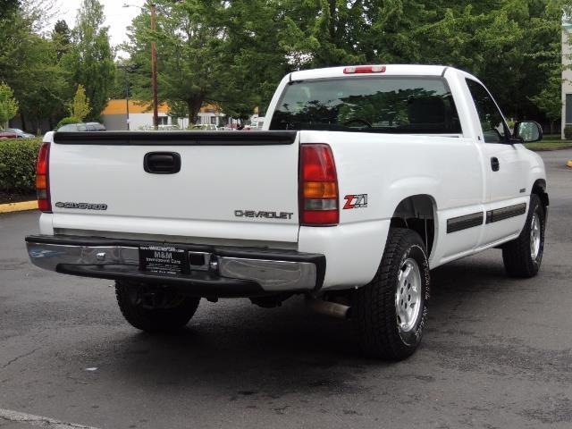 2001 Chevrolet Silverado 1500 LS 2dr Standard Cab / 4X4 / LONG BED / Z71  OFF RD - Photo 8 - Portland, OR 97217