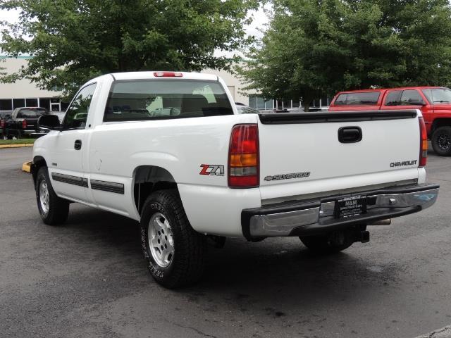2001 Chevrolet Silverado 1500 LS 2dr Standard Cab / 4X4 / LONG BED / Z71  OFF RD - Photo 7 - Portland, OR 97217