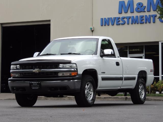 2001 Chevrolet Silverado 1500 LS 2dr Standard Cab / 4X4 / LONG BED / Z71  OFF RD - Photo 1 - Portland, OR 97217