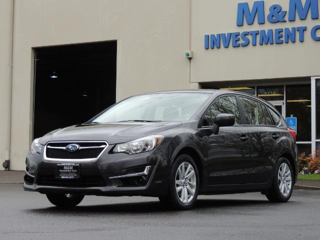 2016 Subaru Impreza 2.0i Premium / HatchBack Wagon / Backup camera - Photo 1 - Portland, OR 97217